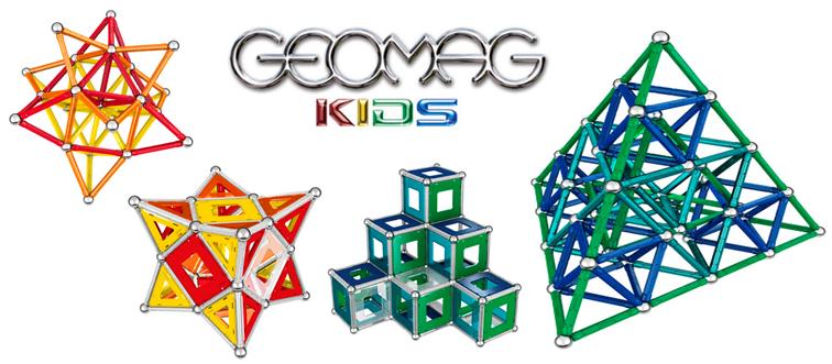 Hračky a magnetické stavebnice Geomag