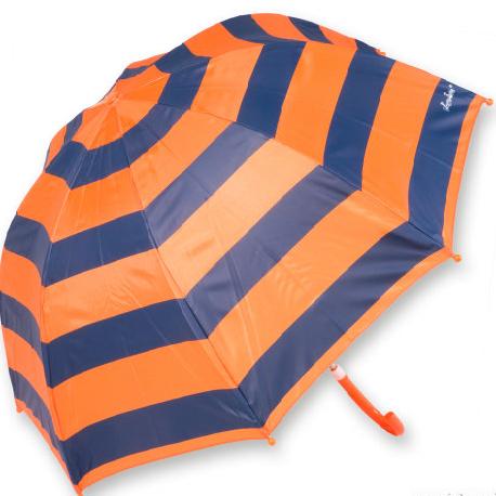 Dáždnik pásikavý oranžový