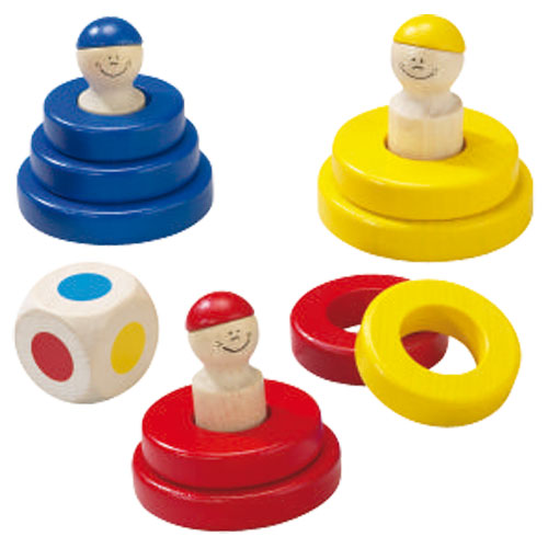 Skladacia hra Farebné krúžky