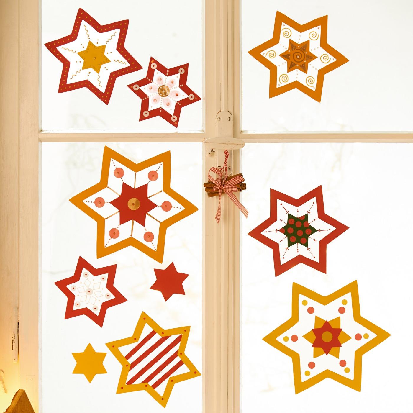 Hviezdičky na okno - urob si