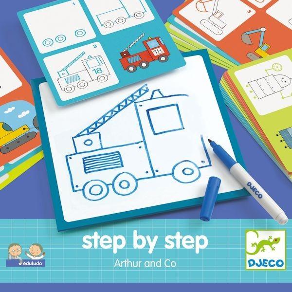 Kreslenie krok za krokom Autá