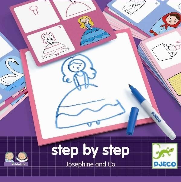 Kreslenie krok za krokom Princezná