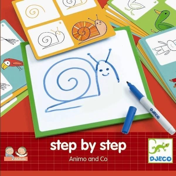 Kreslenie krok za krokom Zvieratká