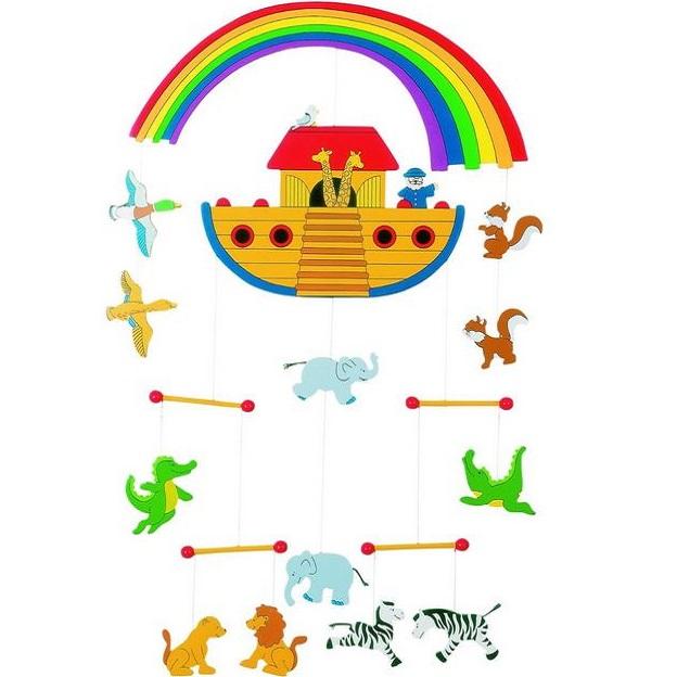 Závesné mobile Noemova archa