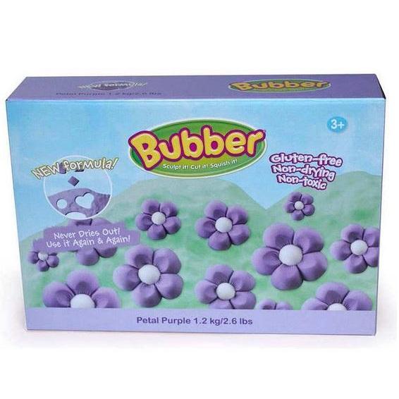 Bubber modelovacia hmota fialová 1,2 kg