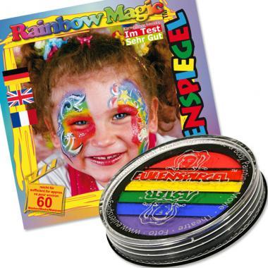 Šminky vodové Rainbow